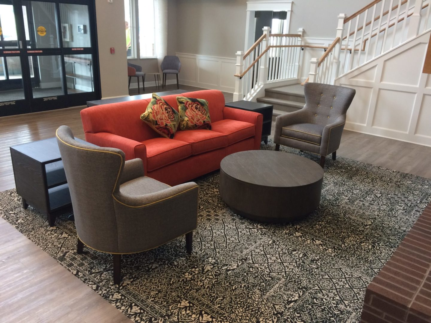 assisted living lobby room